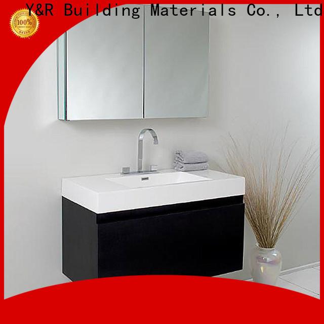 Y&R Building Material Co.,Ltd Custom narrow bathroom vanities Suppliers