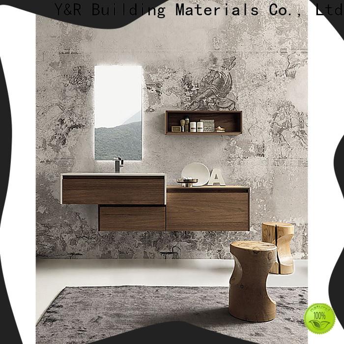 Y&R Building Material Co.,Ltd marble bathroom cabinet factory