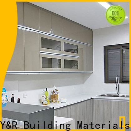 High-quality kitchen closet cabinets Suppliers