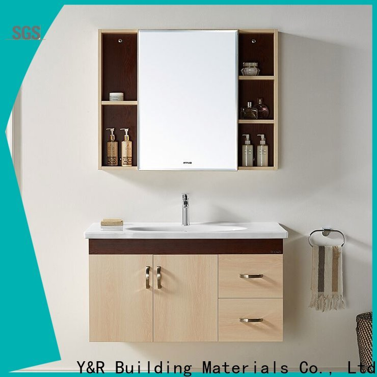 Y&R Building Material Co.,Ltd High-quality bathroom vanity cabinets modern company