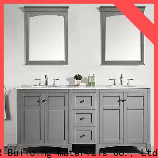 Wholesale bathroom vanity cabinet with sink factory