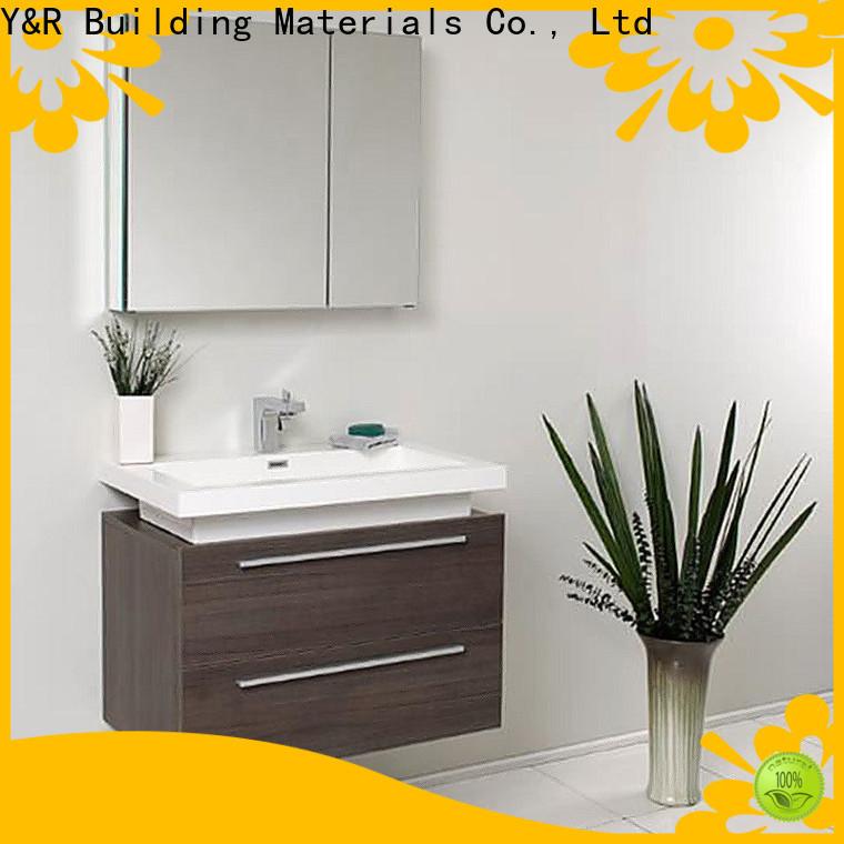 Y&R Building Material Co.,Ltd wooden bathroom cabinet Supply