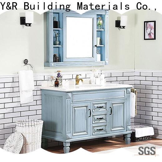High-quality solid wood bathroom vanity manufacturers