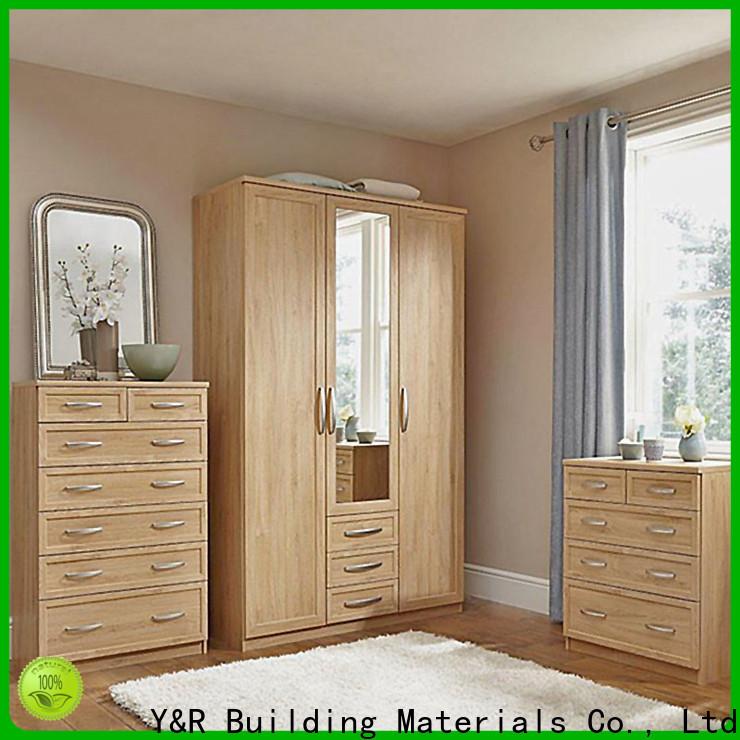 Y&R Building Material Co.,Ltd Top shallow wardrobe Supply