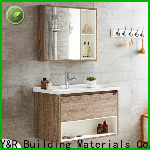 Y&R Building Material Co.,Ltd Best white bathroom cabinet factory