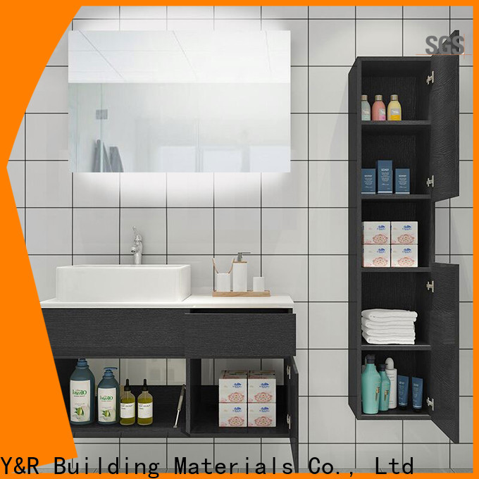 Custom teal bathroom vanity company