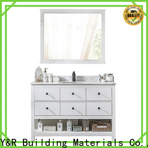 Y&R Building Material Co.,Ltd Best natural wood bathroom vanity for business