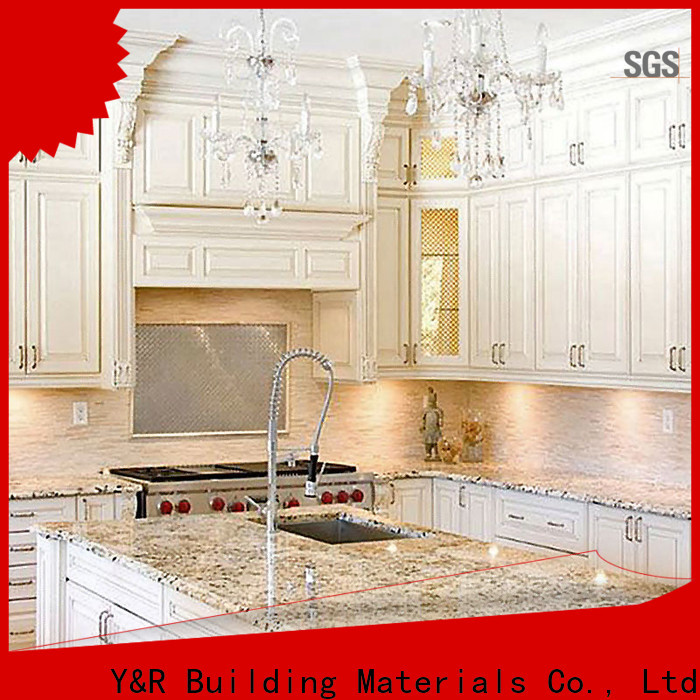 Y&R Building Material Co.,Ltd Latest all wood kitchen cabinet factory