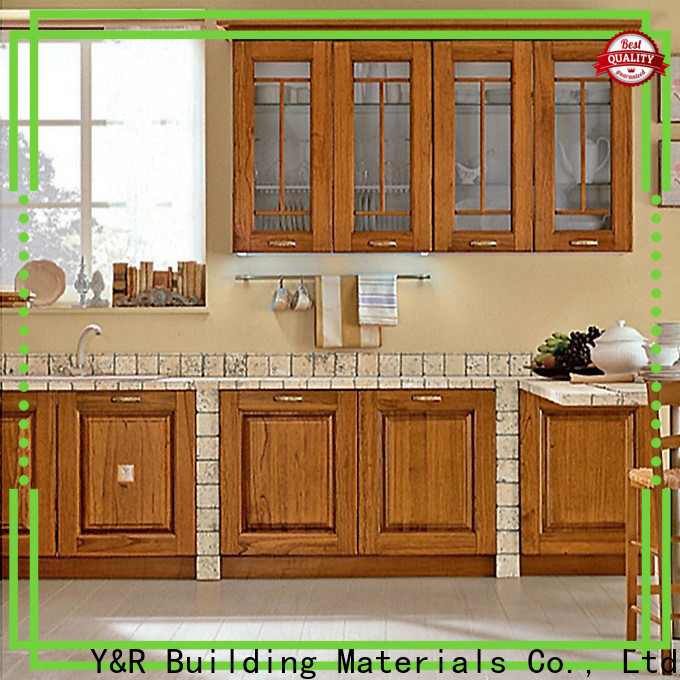 Y&R Building Material Co.,Ltd Latest kitchen pantry cabinet for business