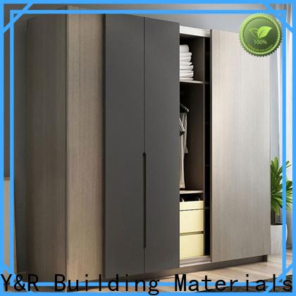 Y&R Building Material Co.,Ltd Latest white sliding door wardrobe Supply