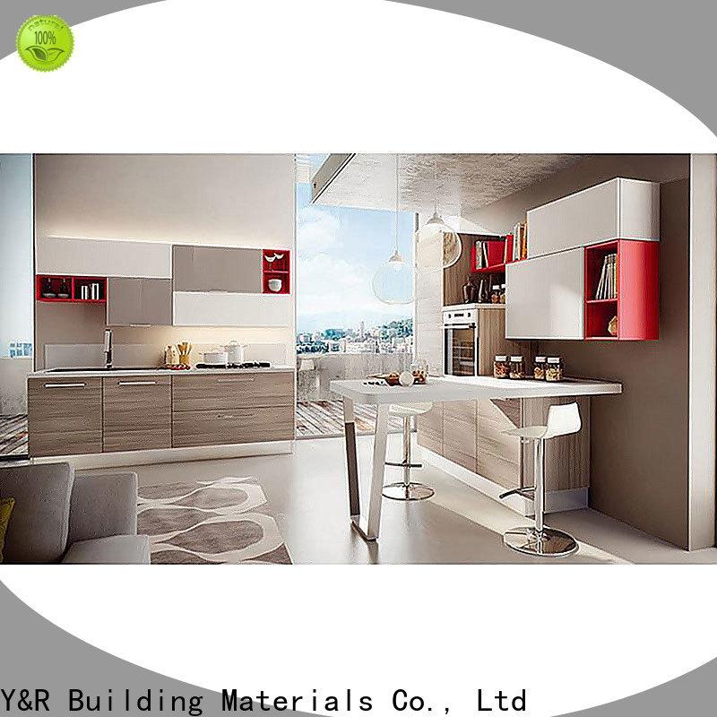 Y&r Furniture Top smart kitchen cabinet Supply