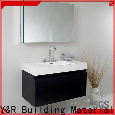 Y&r Furniture green bathroom vanity for business