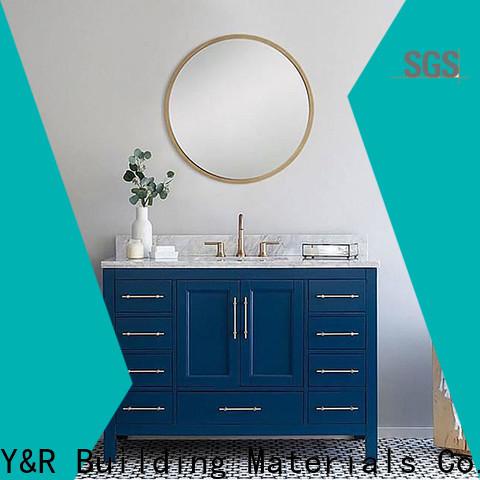 Top bathroom vanity with drawers manufacturers
