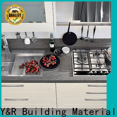 Y&r Furniture Wholesale glass kitchen cabinet doors Supply