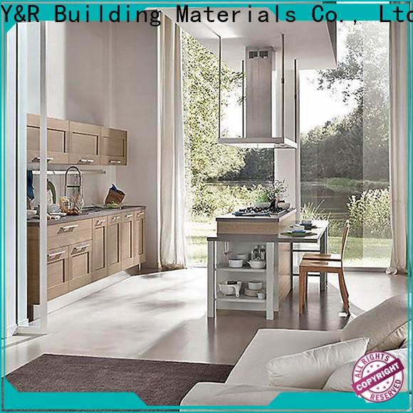 Y&r Furniture color kitchen cabinet factory
