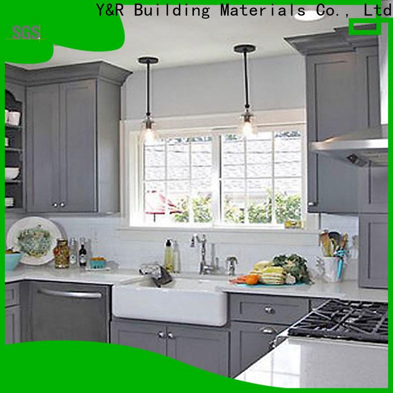 Y&r Furniture Custom kitchen cabinet designs solid wood manufacturers