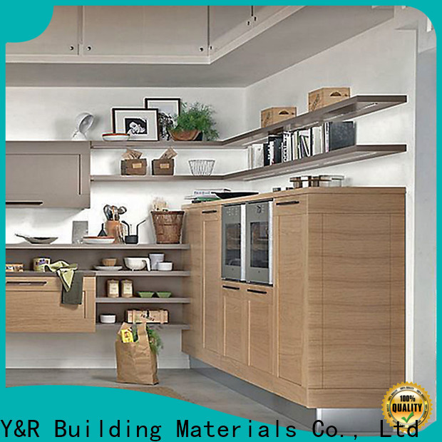 Latest laminate paper for kitchen cabinet factory
