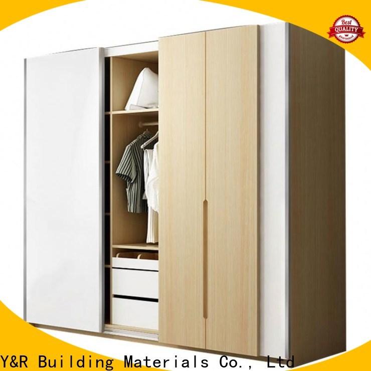 Wholesale solid wood wardrobe factory
