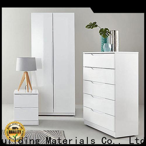 Y&r Furniture grey mirrored wardrobe Supply